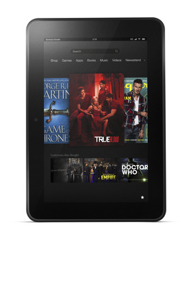 Amazon shows off their $299 Kindle Fire HD
